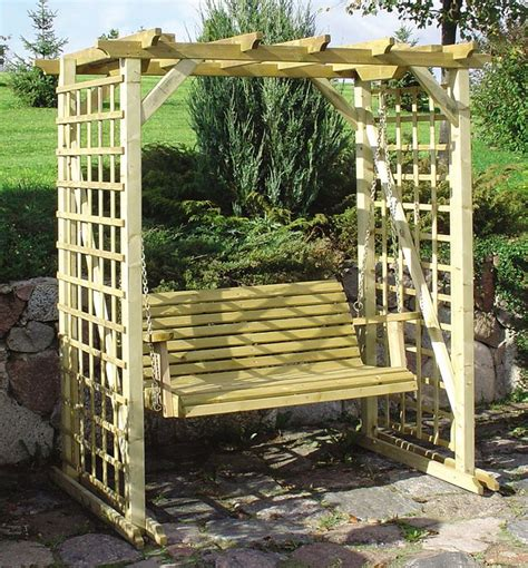 garden swinging bench 17 best ideas about garden swing seat on pinterest