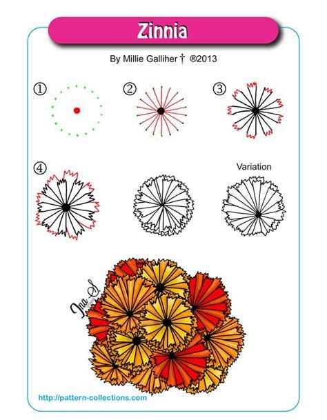 doodle flower patterns 531 best images about doodles tangles patterns on