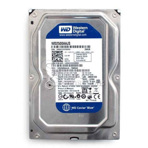 Hdd Wd 250gb western digital 250gb sata drive images