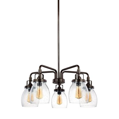 sea gull lighting belton 5 light heirloom bronze single