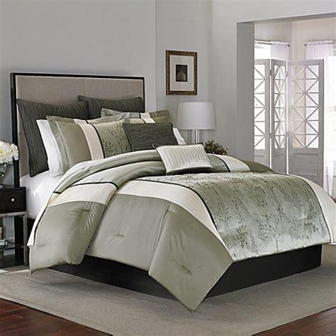 sage comforters manor hill 174 lark comforter set in sage bed bath beyond