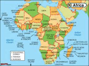 Current Map Of Africa by Gallery For Gt Political Africa Map