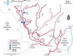 wallowa lake oregon map ossa wallowa