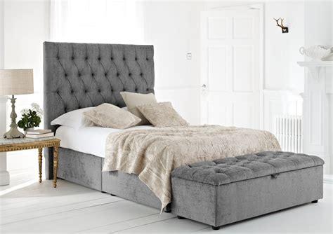 kensington upholstered divan base and headboard