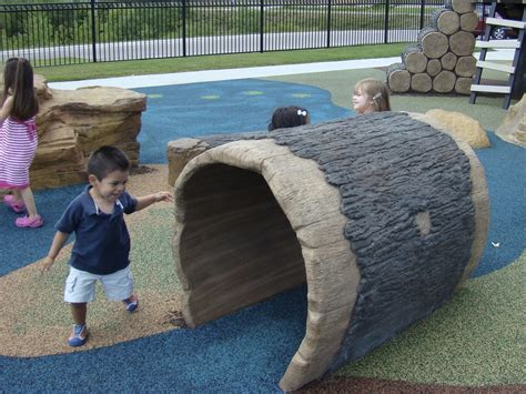 Landscape Structures Log Crawl Tunnel Hollow Log Crawl By Cre8play