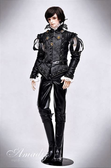 jointed doll costume one bjd quot black prince quot bjd dolls and black