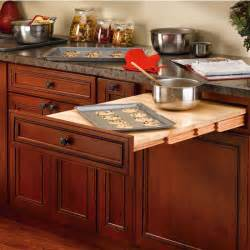 Kitchen Table With Cabinets Rev A Shelf Wood Pull Out Table For Kitchen Or Desk Cabinet Kitchensource