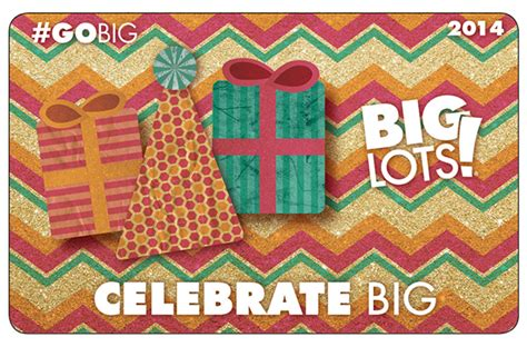 Big Lots Gift Card - gift card design big lots on behance