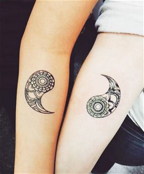 yin and yang couple tattoos 25 best ideas about matching relationship tattoos on