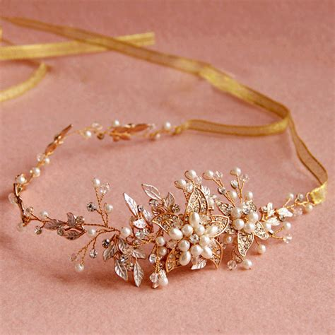 Vintage Bridal Hair Accessories To Buy by Buy Wholesale Vintage Gold Pearl Flower