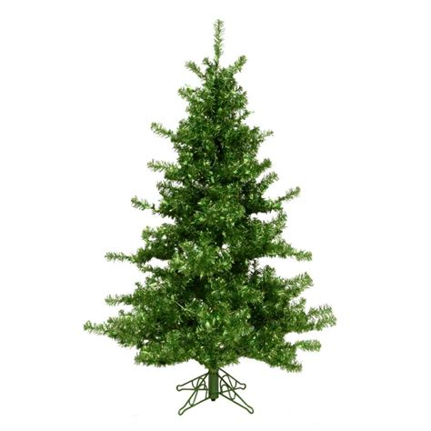 6 12 x 34 tinsel slim christmas tree with 400 clear lights 6 5 ft green tinsel tree
