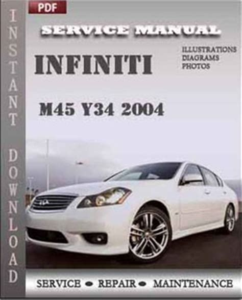 service repair manual free download 1992 infiniti m user handbook infiniti m45 y34 2004 repair manual pdf online servicerepairmanualdownload com