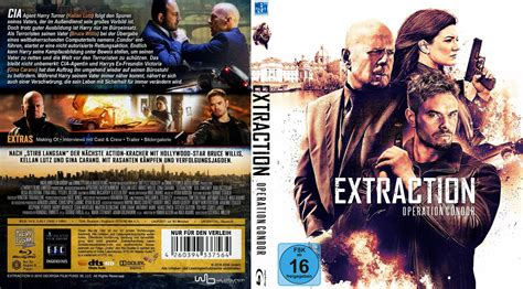 extraction operation condor cover label 2016