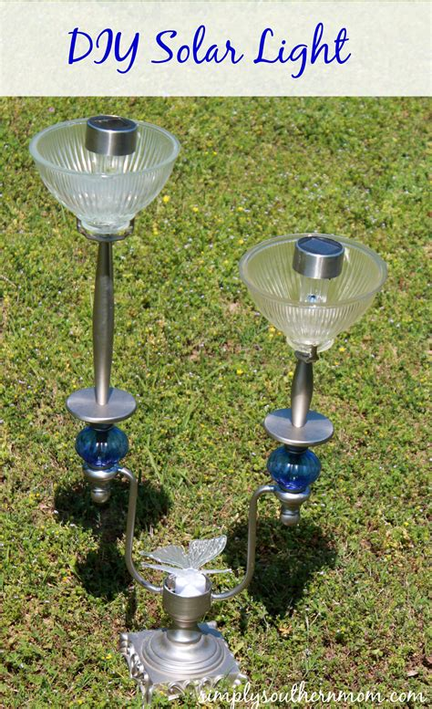 Diy Solar L Made With An Old Lstand Simply Solar Light Ideas