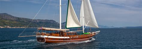 cabin charter as cruising cabin charter cruise on a gulet in croatia
