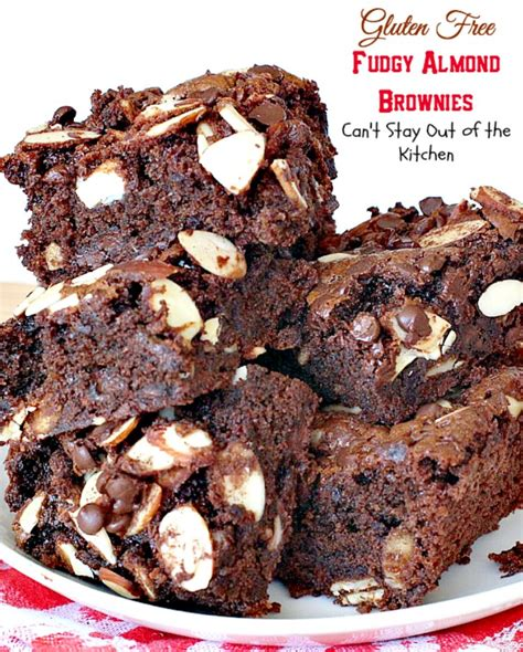 Happynuts Brownies Gluten Free Brownies Almonds gluten free fudgy almond brownies can t stay out of the kitchen