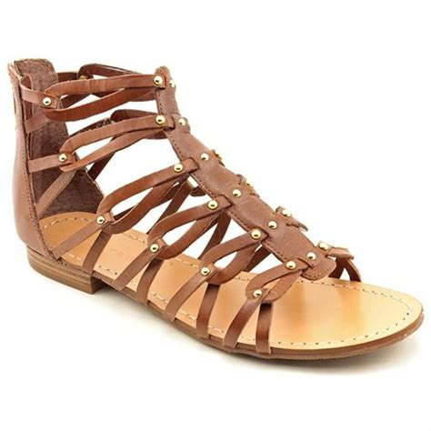 ivanka gladiator sandals ivanka rene brown leather gladiator sandals shoes