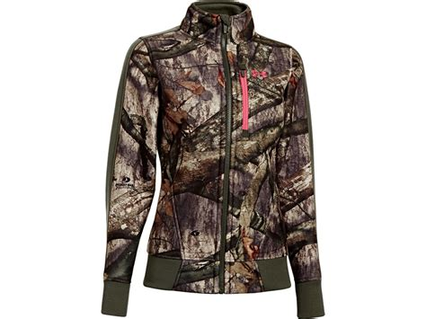 mossy oak womens jacket armour s ayton fleece jacket polyester upc 887907328402