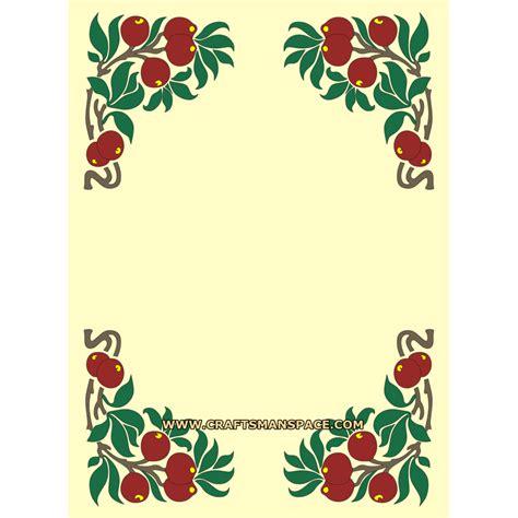 design frame pattern art nouveau designs