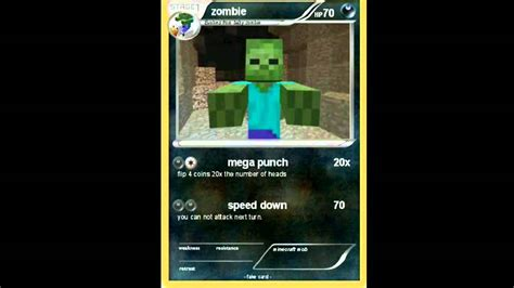 Gift Card Minecraft - pokemon minecraft cards youtube