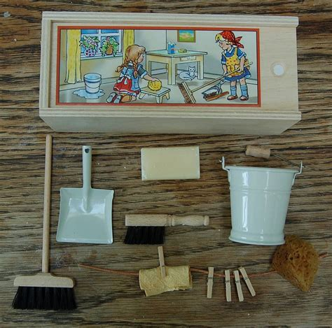 personalised dolls house personalised dolls house cleaning set by hunter gatherer