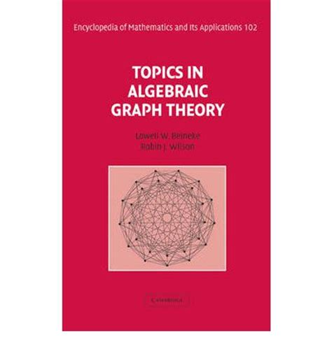 applying graph theory in ecological research books topics in algebraic graph theory algebraic graph theory v