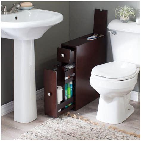 toilet paper holder cabinet narrow bathroom cabinet storage thin bath drawer wood