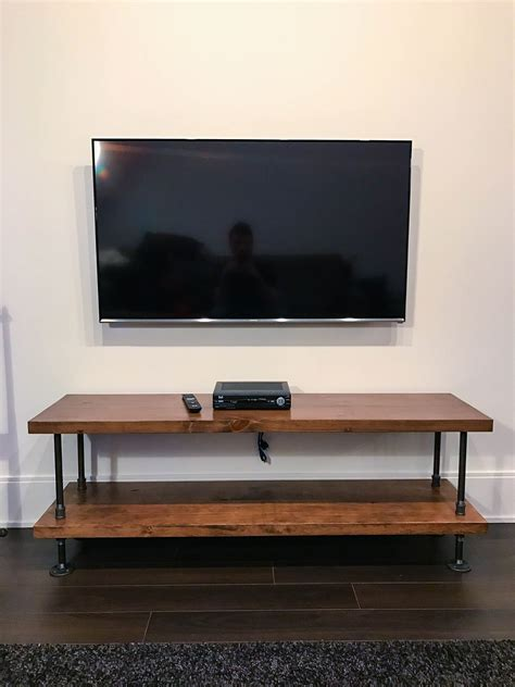 industrial tv stand rustic industrial tv stand rustic industrial coffee table