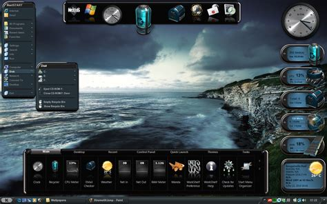 xtreme themes for windows 7 winstep xtreme desktop enhancements software download for pc