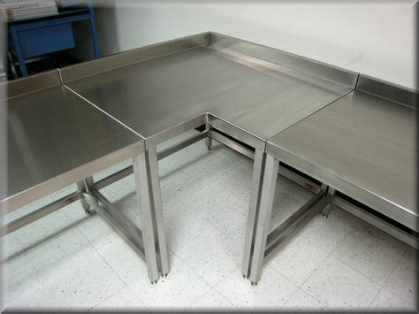 Corner Tables For Kitchen - l shaped tables at rdm industrial products