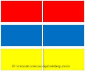 color pairs montessori monday diy color tablets