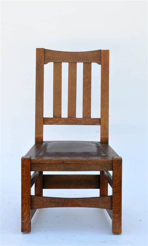 Mission Chairs For Sale by Original Mission Style Arts And Crafts Oak Chair By