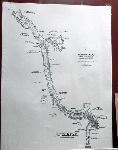 missouri caves map map of riverbluff cave springfield missouri flickr