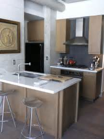 pictures of small kitchens with islands small kitchen island houzz