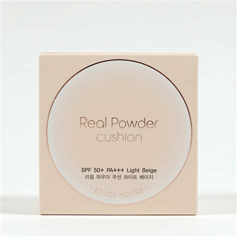 Etude Powder Cushion etude house real powder cushion review