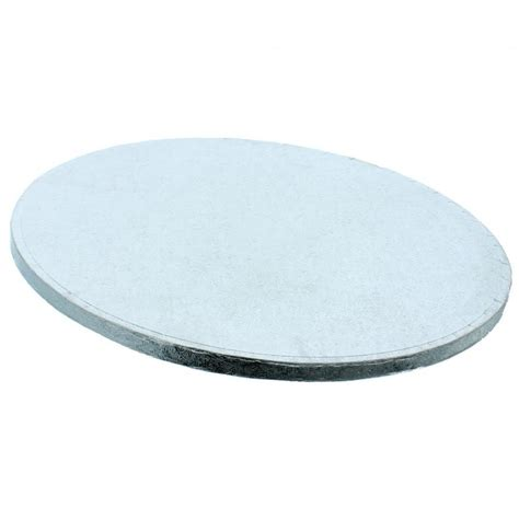 the cake decorating co 17 inch silver drum cake