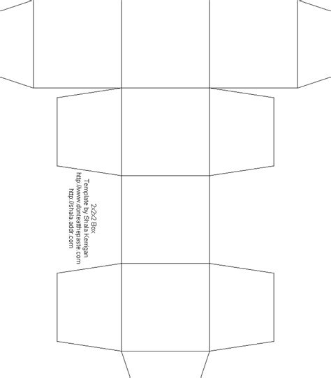 free box templates blank box template free box templates to print for gift