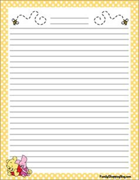 winnie the pooh writing paper free printable stationary on free printable
