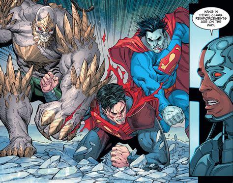 comic vs superman vs doomsday www pixshark images galleries