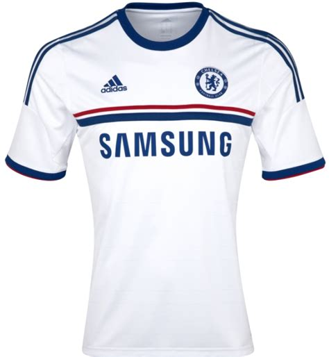 Jersey Chelsea Away 2013 2014 new chelsea away kit 13 14 adidas white chelsea fc away
