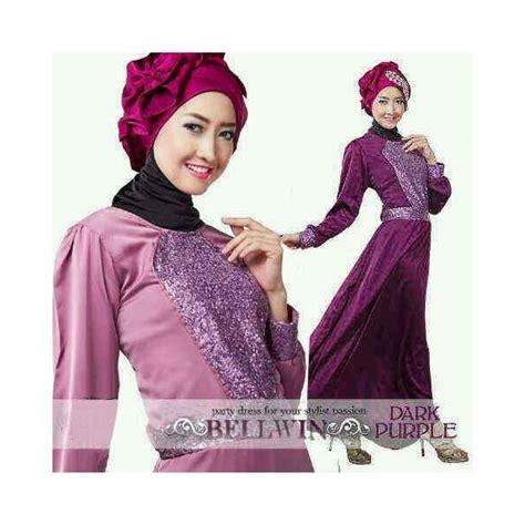 Brokat Halus Glitter gamis pesta cantik glitter bellwin gaun muslimah cantik