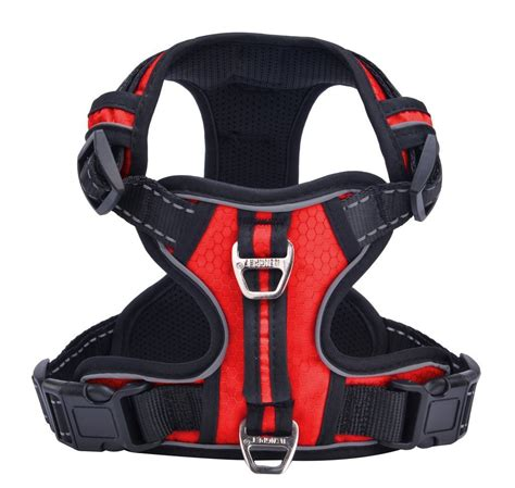 best puppy harness pupteck best front range no pull harness with vertical handle