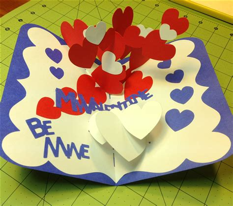 twisting hearts pop up card template 28 images 17 best