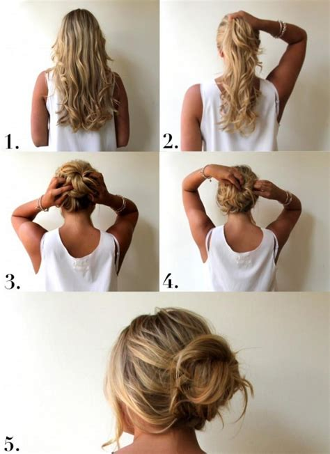 ways to bring in color in an updo perfect messy bun hairstyle tutorial styles weekly