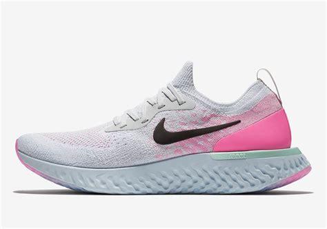 Nike React Epic nike epic react s white pink release info aq0067 007 sneakernews