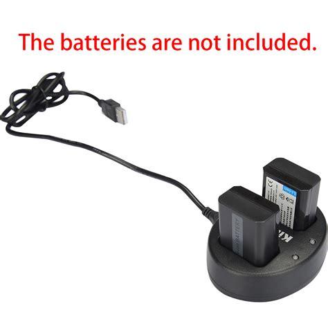 Murah Adaptor Charger Psp Sony Original Murah kingma charger baterai 2 slot for sony a5000 a5100 a6000 a7r nex6 5t 5r 5n np fw50 black