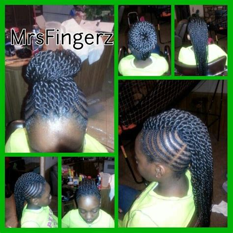 braided mohawk with senegalese twist mohawk with senegalese twist mrsfingerz styles