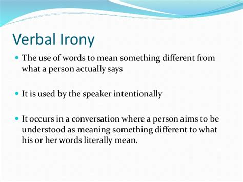 Or Meaning Types Of Irony
