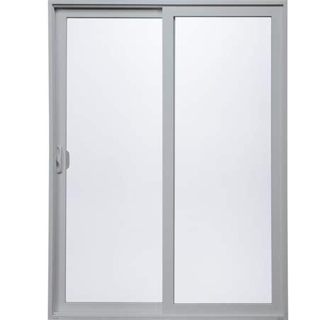 Silver Premium vinyl sliding patio door montecito 174 series milgard