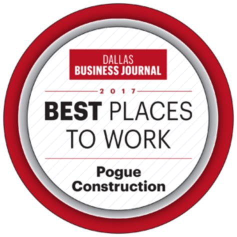 dallas entertainment journal the best of dallas pogue construction one of dfw s best places to work as